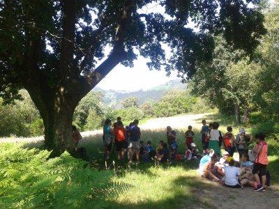 Campamento urbano en Deba en euskera 1 semana