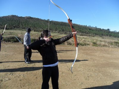 Olympic archery course in Galicia. 10 hours
