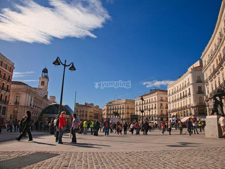 Puerta del sol madrilena