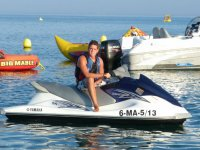 Alquilar moto de agua biplaza en Mijas 15 minutos
