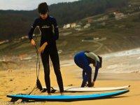 Prepara tu material de surf