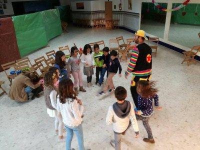 儿童在韦尔瓦的娱乐活动为1小时派对