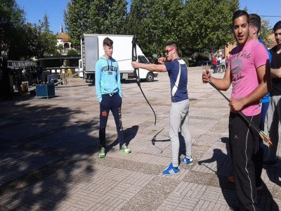 Archery competition at Sanlúcar del Guadiana
