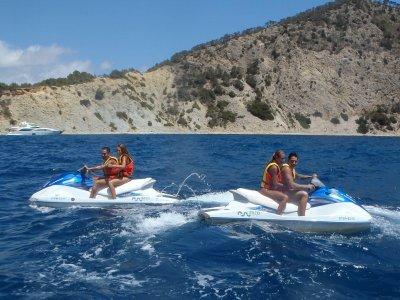Excursión guiada en moto de agua Ibiza 30 minutos