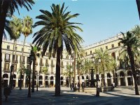 The squares of barcelona
