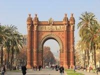 The triumph arch of Barcelona