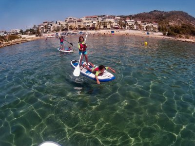Rent Paddle Surf Equipment in Sitges, 1 Hour