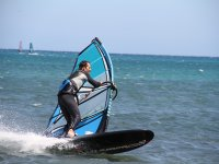 Alquilar material de windsurf en Agua Plana 2horas