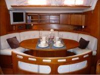 Interior de los barcos