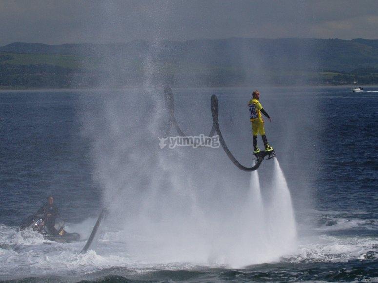 Jornada de deporte acuático en Talamanca