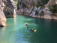 在Buitreras峡谷