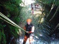 Barranquismo nivel medio y picnic en río Navedo