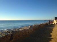 Paseo junto al mar en Marbella