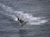 salto con el kite