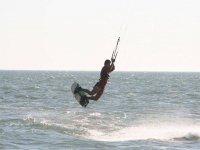 风筝冲浪在赫雷斯德拉弗龙特拉