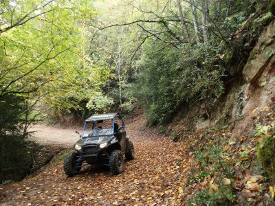 1h 30 2-seater buggy trip in central Catalunya