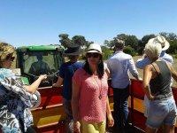Visita a una ganaderia de toros bravos