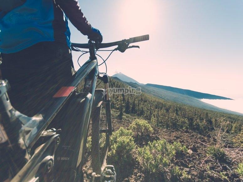 巴赫克德尔泰德特内里费步行自行车骑自行车