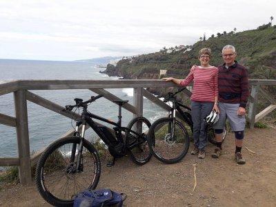 电动自行车租赁在特内里费岛1天