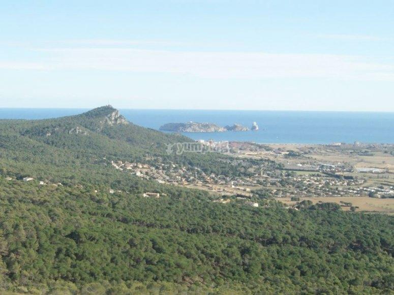 Sightings of the islands Medas