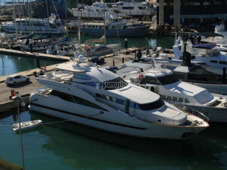 28-metre big yacht