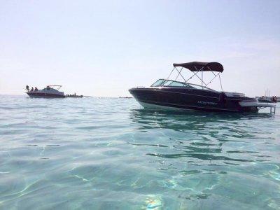 Noleggio barche Monterey a Ibiza a maggio e ottobre