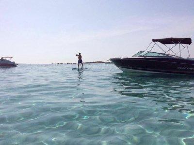 Alquiler de barco Monterey 224 en Ibiza 8 horas