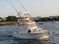 高渔船旅行通过马略卡7h
