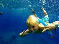 海上浮潜和其他活动