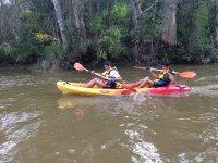 Alquilar kayak doble en el Guadiana 1 hora
