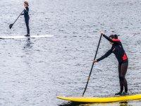 在瓜迪亚纳和以前的班级划桨冲浪