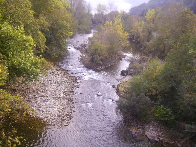 Rio Sella en Asturias