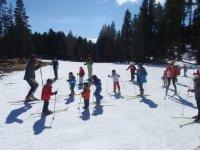 Esquia en familia