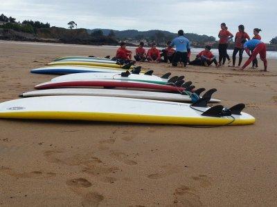 Escuela de Surf Marejada Campamentos de Surf