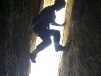 Entre paredes de roca