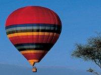 globo en el aire