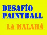 Logotipo de Desafio Paintball La Malaha
