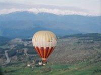 标志鸟瞰加泰罗尼亚气球