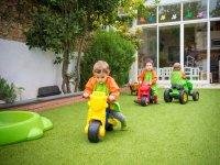 Campamento infantil en Barcelona