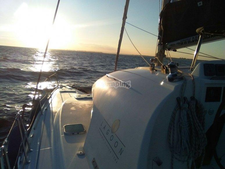 双体船泻湖380