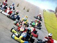 in the karting circuit