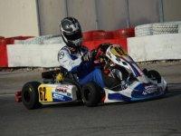participante en karting