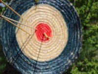 Archery for kids at Guadiana, 5 arrows