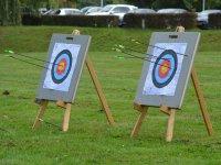 Archery in Sanlúcar del Guadiana, 10 arrows