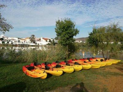 Alquilar un kayak de una plaza en el Guadiana 3h