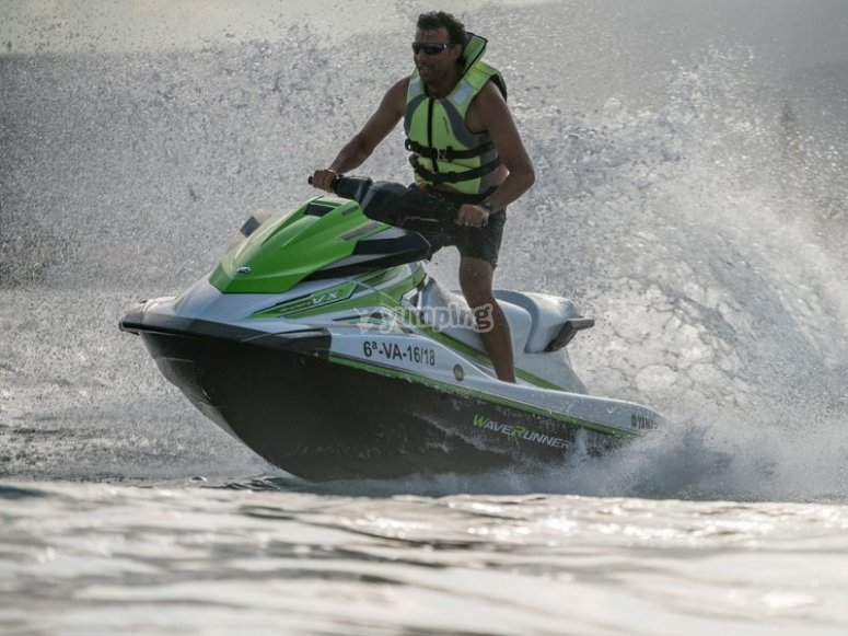 Accelerating the jet ski
