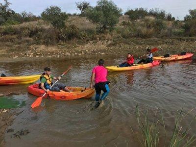 Alquilar kayak de una plaza en el Guadiana 6 horas