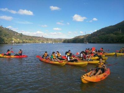 Alquilar kayak doble en el río Guadiana 4 horas