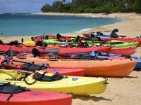 kayaking boats
