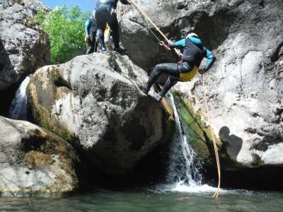 Stag/hen do: canyoning in León